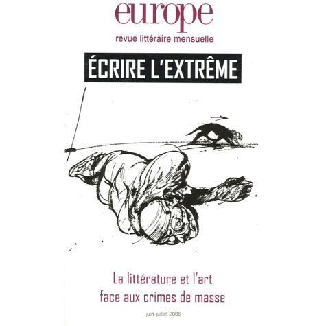 europe-ecrire-l-extreme-t-926-t-927-juin-juille-