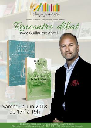 rencontre-débat avec Guillaume Ancel